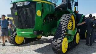 Deere adds narrow tracks for row crops
