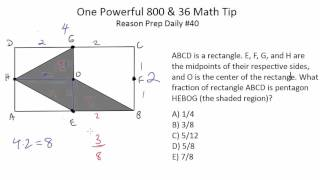 [SAT/ACT] One Powerful 800 & 36 Math Tip