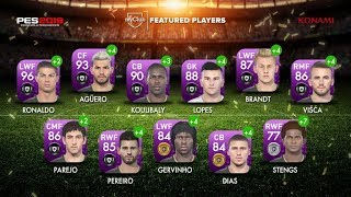 Players Of The Week Pes Mobile