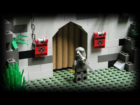 Lego Ninja The Underground Fortress