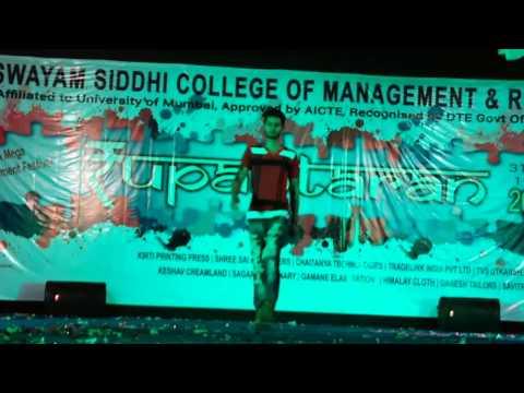 Fashion show B.N.N College Bhiwandi Waseem & group..