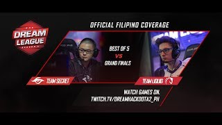 Team Liquid vs Team Secret Game 3 Grandfinals (BO5)   DreamLeague season 8