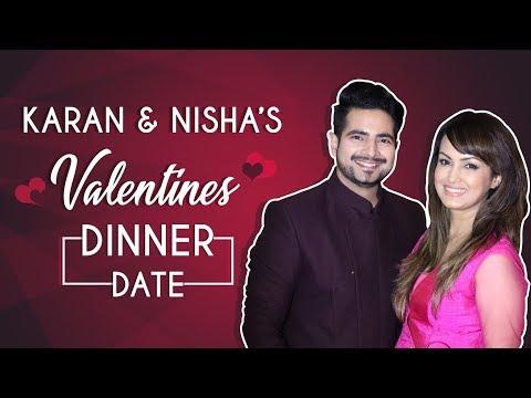 Xxx Mp4 Karan Mehra And Nisha Rawal's Romantic Valentines Dinner Date Exclusive 3gp Sex