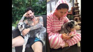 Sunny Leone With Dog  Lilu