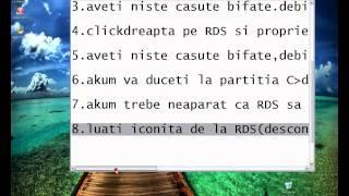 cum faci RDS sa se conecteze automat