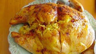 Stuffed Chicken | morgh shekampor | مرغ شکم پر