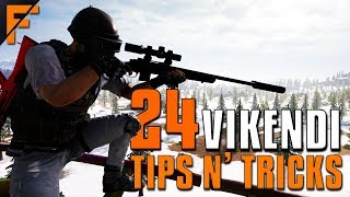 24 Vikendi Tips and Tricks - THIS MAP IS AWESOME! | PUBG