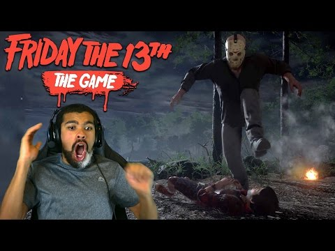 HE CURB STOMPED THE SH T OUTTA ME Friday the 13th The Game