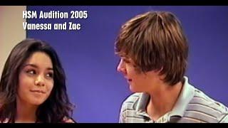 Zac Efron & Vanessa Hudgens Never Before Seen Auditions! (HIGH SCHOOL MUSICAL)