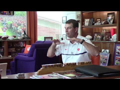 Interview preview Clemson Coach Dabo Swinney on Building A Winning Culture
