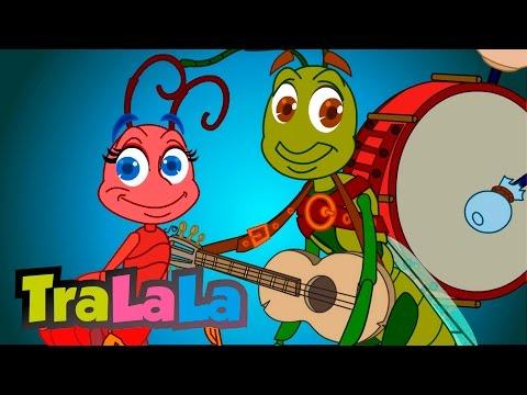 Greierele şi furnica Cântece pentru copii TraLaLa