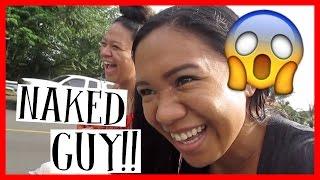 NAKED GUY IN STREAM!! 🎄 Vlogmas Day 8 | Ki Vlogs