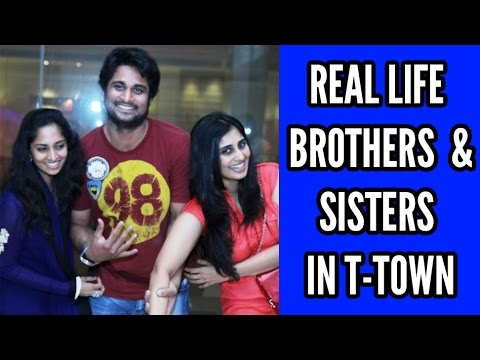 Real Life Brothers and Sisters in Tollywood