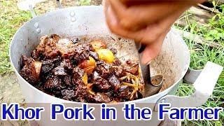 Asian Khmer Cooking food recipes, Khor Pork in the farmer