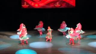 mughal - e - azam  Retro Tarang Diwali Moscow 2013 - Kathak Stylization