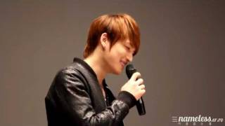 [JYJ The Day] Jaejoong Q&A 2