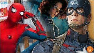 Captain America & Black Widow for Spider-Man 2?