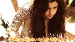 Alia Bhatt First Ever Photoshoot for Vogue India