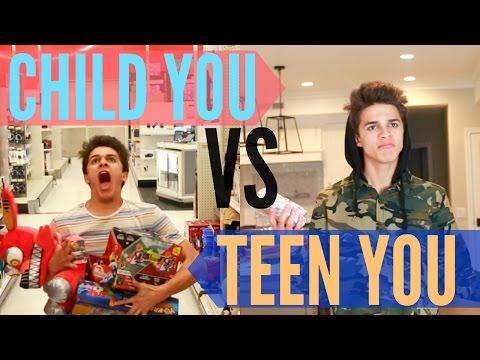 Xxx Mp4 Child You VS Teenage You Brent Rivera 3gp Sex
