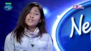 Nepal Idol She made Nhyoo Bajracharya Cry Kathmandu Audition episode 8