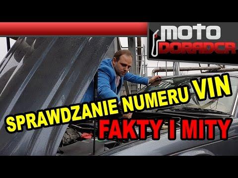 Sprawdzanie numeru VIN FAKTY I MITY 282 MOTO DORADCA
