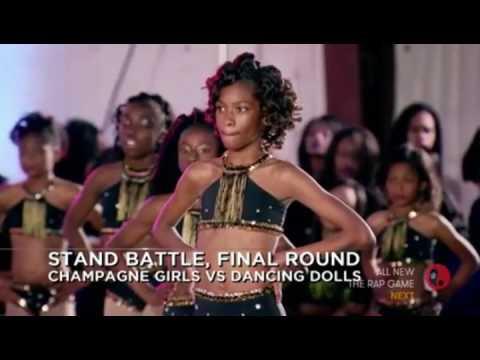 Dancing Dolls vs Southern Royalettes, Champagne Girls