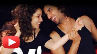 PICS! Sushant Singh Rajput Celebrates Birthday With Ankita Lokhande - Watch Now!