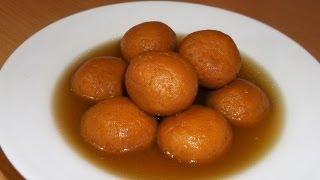 Jaggery Rasgulla Recipe (Gur Ka rasgulla) Indian Bengali Milk Dessert / Sweets Recipe