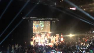 Manny Pacquiao VS Tim Bradley 3 Weigh In MGM Grand Garden Arena