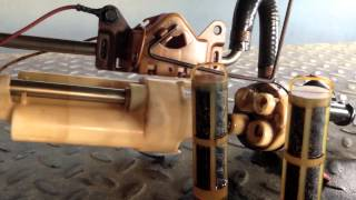 Ford 7.3 Powerstroke fuel tank mods. Harpoon and Hutch