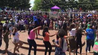 AKAs Of Tennessee State University Line Dance | University Line dance Must watch