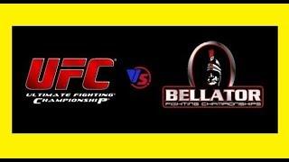 UFC der grösste KONKURRENT► ►BELLATOR-dort sind viele ehemalige ufc SUPERSTARs,MMA deutsch!