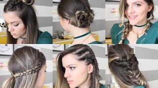 Kolay 6 Farklı Örgü Saç Modelleri BACK TO SCHOOL