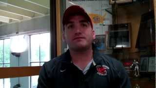 Mules wrestling coach Justin Ensign talks about the upcoming season