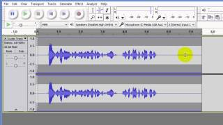 Enhance voice in audio and video recordings with Audacity