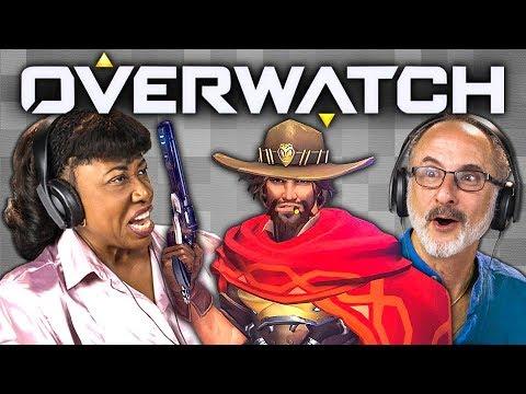 Xxx Mp4 OVERWATCH Elders React Gaming 3gp Sex
