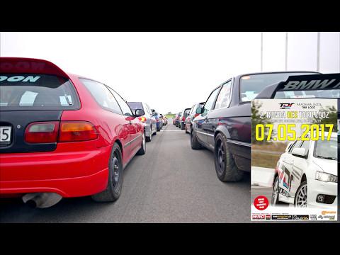 #24 R. Cieślik / Z. Krawczyk - Honda Civic. 2. runda OES Toru Łódź. Przejazd 2.