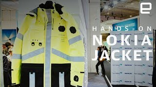 Nokia FR Jacket Hands-On at MWC 2018