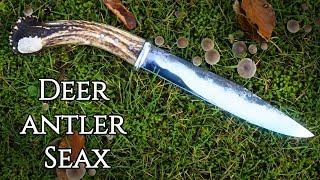 Knife Making - Forging a Broken Back Viking Seax