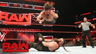 Seth Rollins vs. Braun Strowman: Raw, Jan. 9, 2017