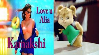Kamakshi - Luv U Alia | Shaan | Jassie Gift | Sunny Leone & Srujan Lokesh♥Chipmunk Version♥