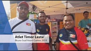 Atlet Timor Leste Bicara Soal Asian Games 2018