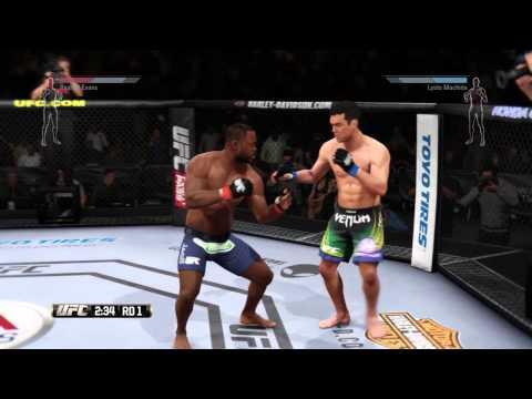 Lyoto Machida vs Rashad Evans