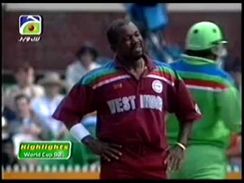Pakistan vs West Indies World Cup 1992 HQ Extended Higlights