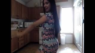 spanish woman in kitchen
