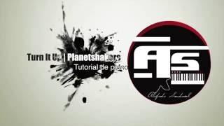 Tutorial de piano Turn It Up - Planetshakers