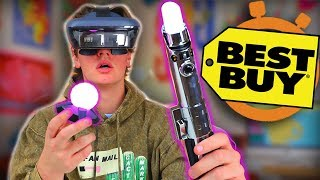 Crazy Star Wars VR - Best Buy 5 Minute Speed Shopping
