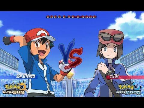 Xxx Mp4 Pokemon Battle USUM Kalos Ash Vs Calem Pokémon Main Protagonist Face Off 3gp Sex