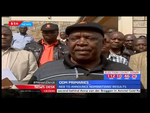 Preparations in Nyamira County for the ODM party primaries