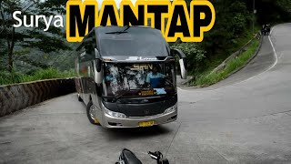 Kumpulan Bus melewati Sitinjau Lauik TERBARU!!